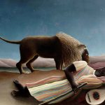 Modern and Abstract Art - Henri-Rousseau-The-Sleeping-Gypsy