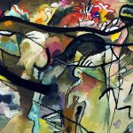 Modern and Abstract Art - Wassily-Kandinsky-Composition-V
