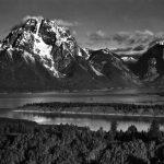 Ansel Adams - Mt-Moran,-Teton-National-Park