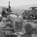 Ansel Adams - Manzanar Tractor Repair