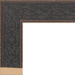 TV Frame Hardwood Selections - Bandana Black