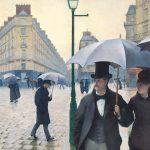 Digital TV Art - Impressionist Masters - Caillebotte-Paris-a-Rainy-Day