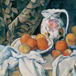 Digital TV Art - Impressionist Masters - Cezanne-Still-Life-with-a-Curtain