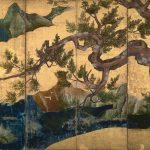 Digital TV Art - Asian Art - Kano-Eitoku - Cypress-Trees
