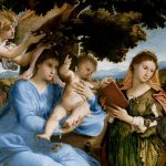 Digital TV Art Renaissance Masterworks - Lotto-Madonna-and-Child-with-Saints