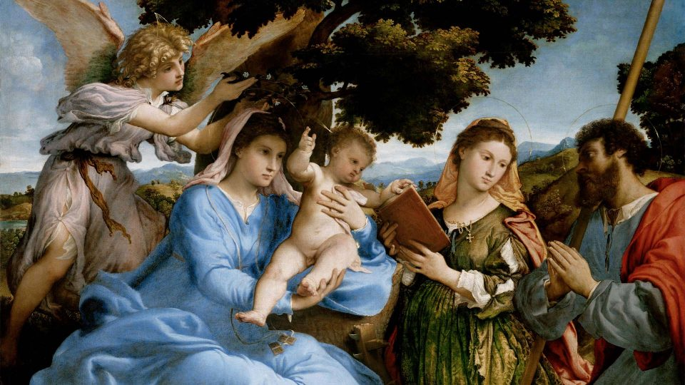 Lotto—Madonna-and-Child-with-Saints