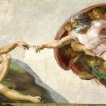 Digital TV Art Renaissance Masterworks - Michaelangelo-Creation-of-Adam