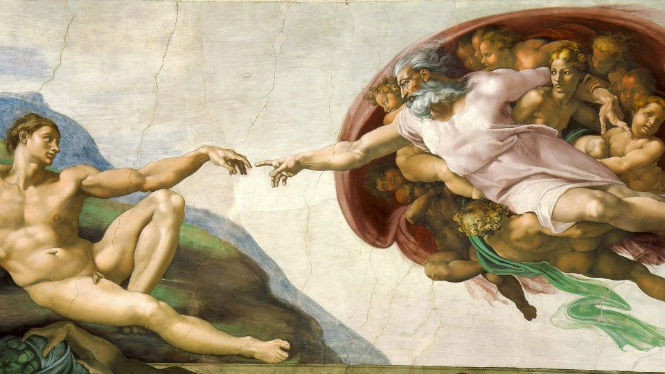 Michaelangelo—Creation-of-Adam