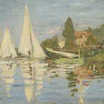 Digital TV Art - Impressionist Masters - Monet-Regattas-at-Argenteuil