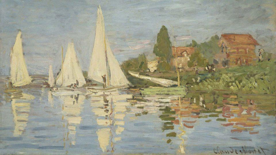 Monet-Regattas-at-Argenteuil