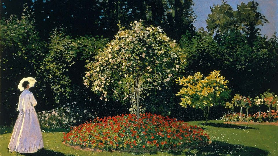 Monet-Woman-in-a-Garden