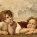 Digital TV Art Renaissance Masterworks - Raphael-Sistine-Madonna-Angels