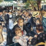 Digital TV Art - Impressionist Masters - Renoir-Dance-at-Le-moulin-de-la-Galette