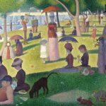 Digital TV Art - Impressionist Masters - Seurat-A-Sunday-Afternoon-on-La-Grande-Jatte