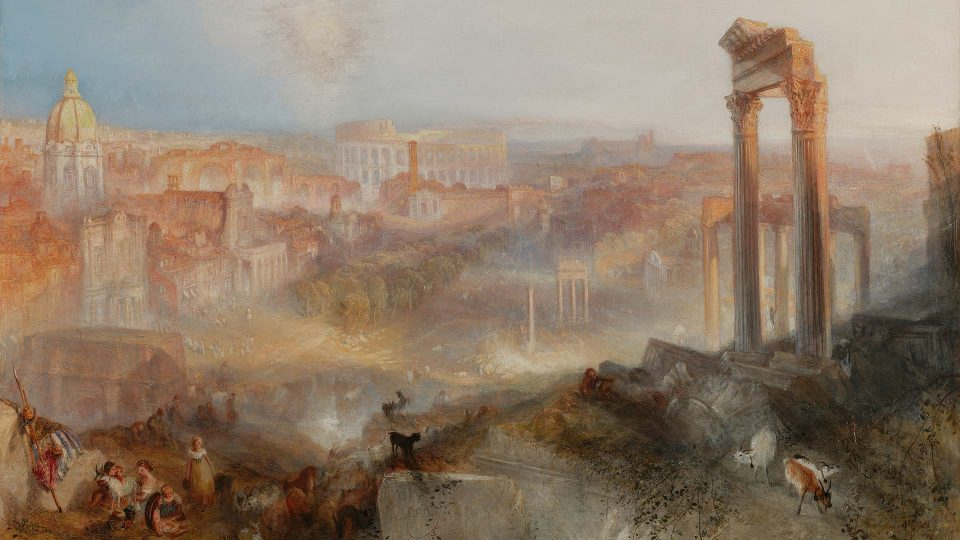 JMW Turner – Modern-Rome-Campo-Vacino-1839