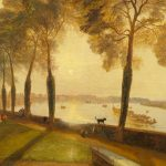 JMW Turner - Mortlake-Terrace-1827
