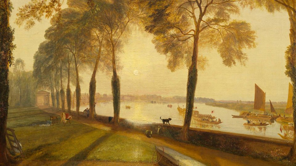 JMW Turner – Mortlake-Terrace-1827