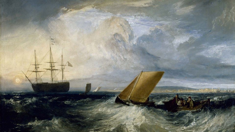 JMW Turner – Sheerness-as-Seen-from-the-Nore-1808