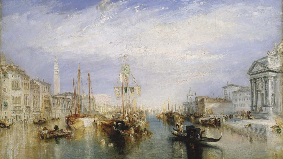 JMW Turner – The-Grand-Canal-Venice-1835