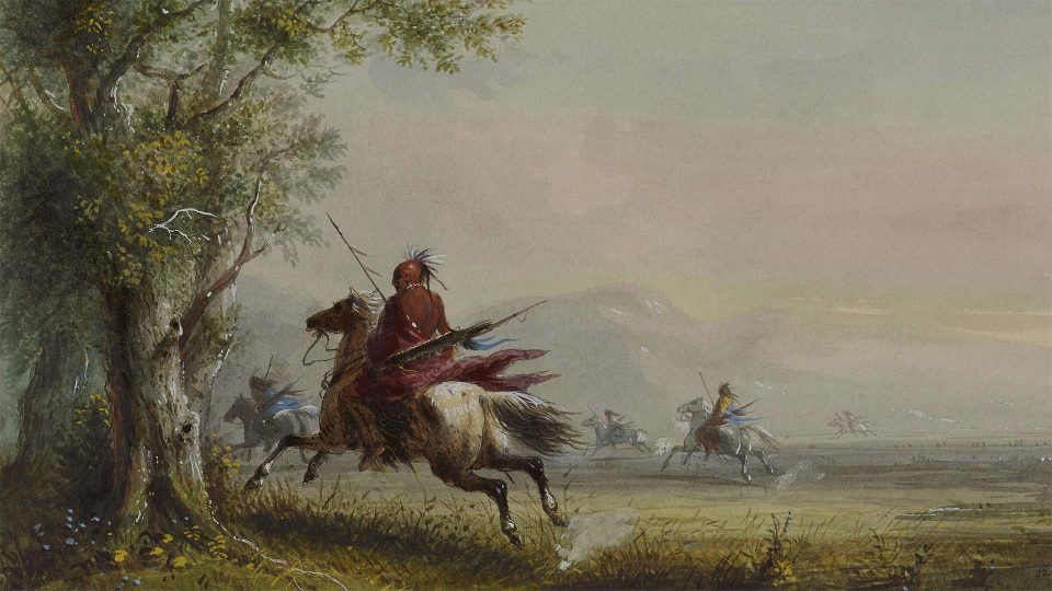 Alfred-Jacob-Miller-Sioux-Reconnoitring