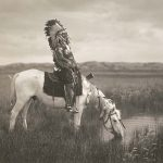 Digital TV Art - The Old West - ES-Curtis-An-Oasis-in-the-Badlands