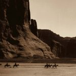 Digital TV Art - The Old West - ES-Curtis-Canyon-de-Chelly-Navajo