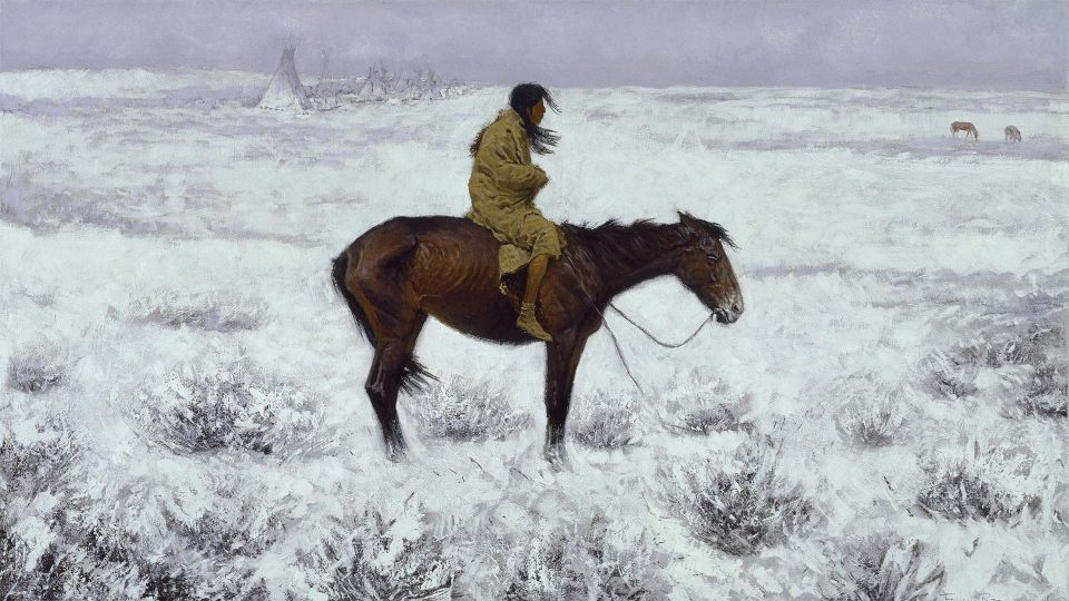 Frederic-Remington-The-Herd-Boy