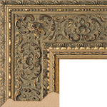 TV Frame Hardwood Selections - Ambrosia Gold