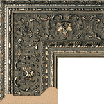 TV Frame Hardwood Selections - Ambrosia Silver