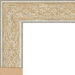 TV Frame Hardwood Selections - Bandana Yellow