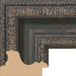 TV Frame Hardwood Selections - Biltmore Black