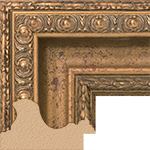 TV Frame Hardwood Selections - Biltmore Gold