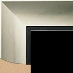 TV Frame Hardwood Selections - Intaglio-Silver