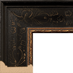TV Frame Hardwood Selections - Isabella Black