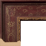 TV Frame Hardwood Selections - Isabella Red