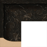 TV Frame Hardwood Selections - Mantilla Brown