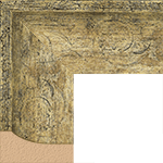 TV Frame Hardwood Selections - Mantilla Silver