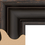 TV Frame Hardwood Selections - Providence Black