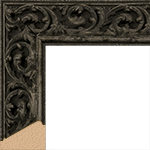 TV Frame Hardwood Selections - Sofia Black