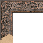 TV Frame Hardwood Selections - Sofia-Bronze