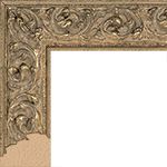 TV Frame Hardwood Selections - Sofia-Gold